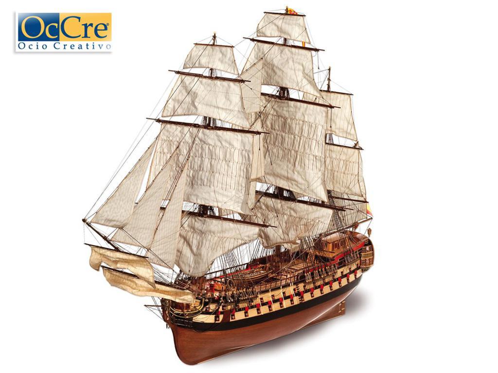 Montañes - Navio español de 74 cañones