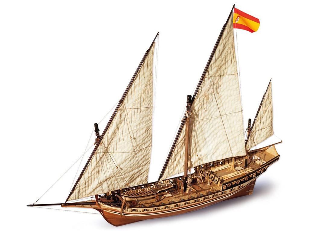 Cazador - Jabeque (Vista 1)
