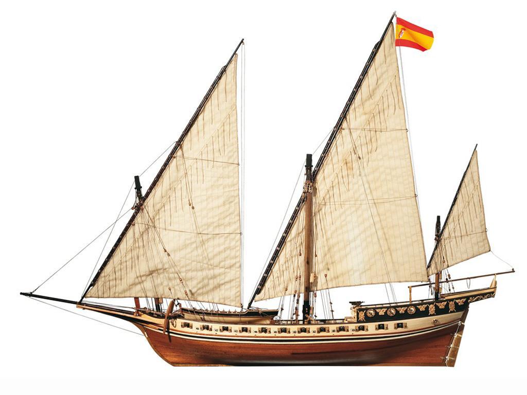 Cazador - Jabeque (Vista 3)