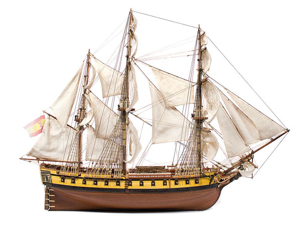Fragata Nuestra Señora de las Mercedes  (Vista 4)