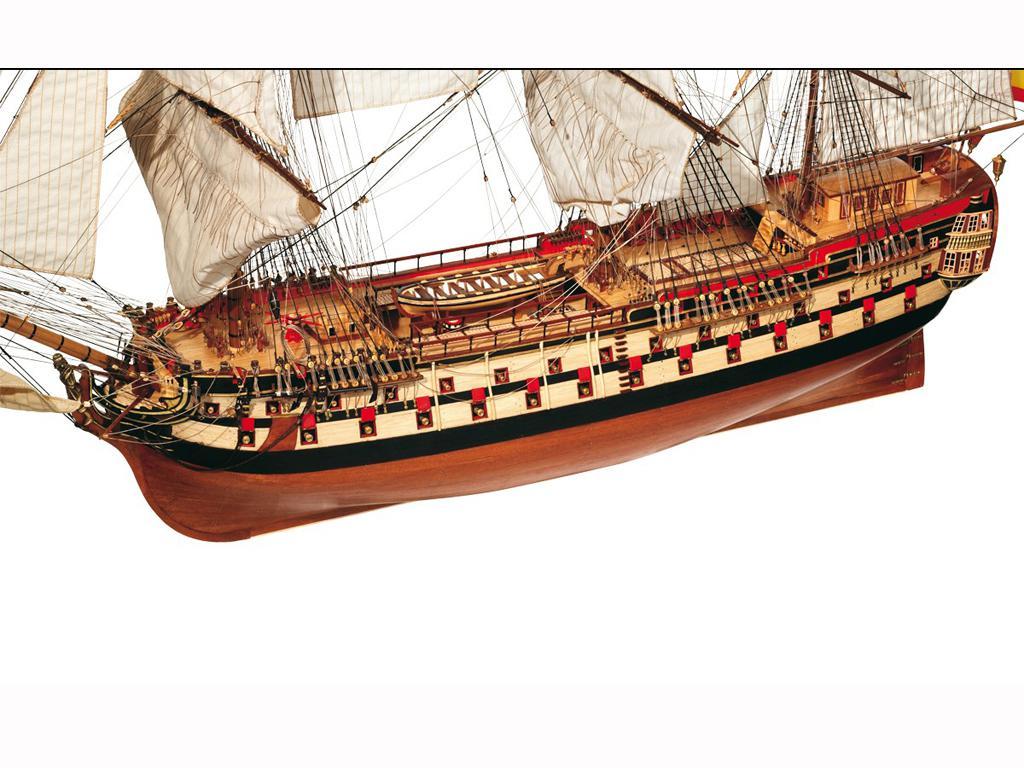 Montañes - Navio español de 74 cañones (Vista 3)