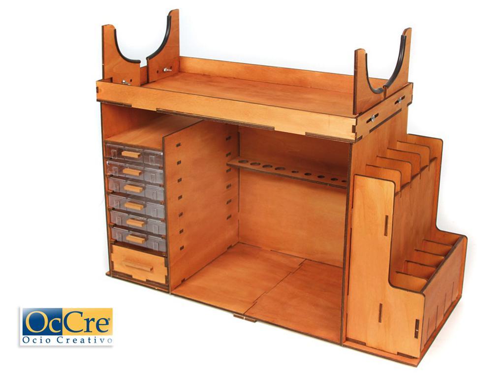 Mueble Taller Portatil (Vista 1)