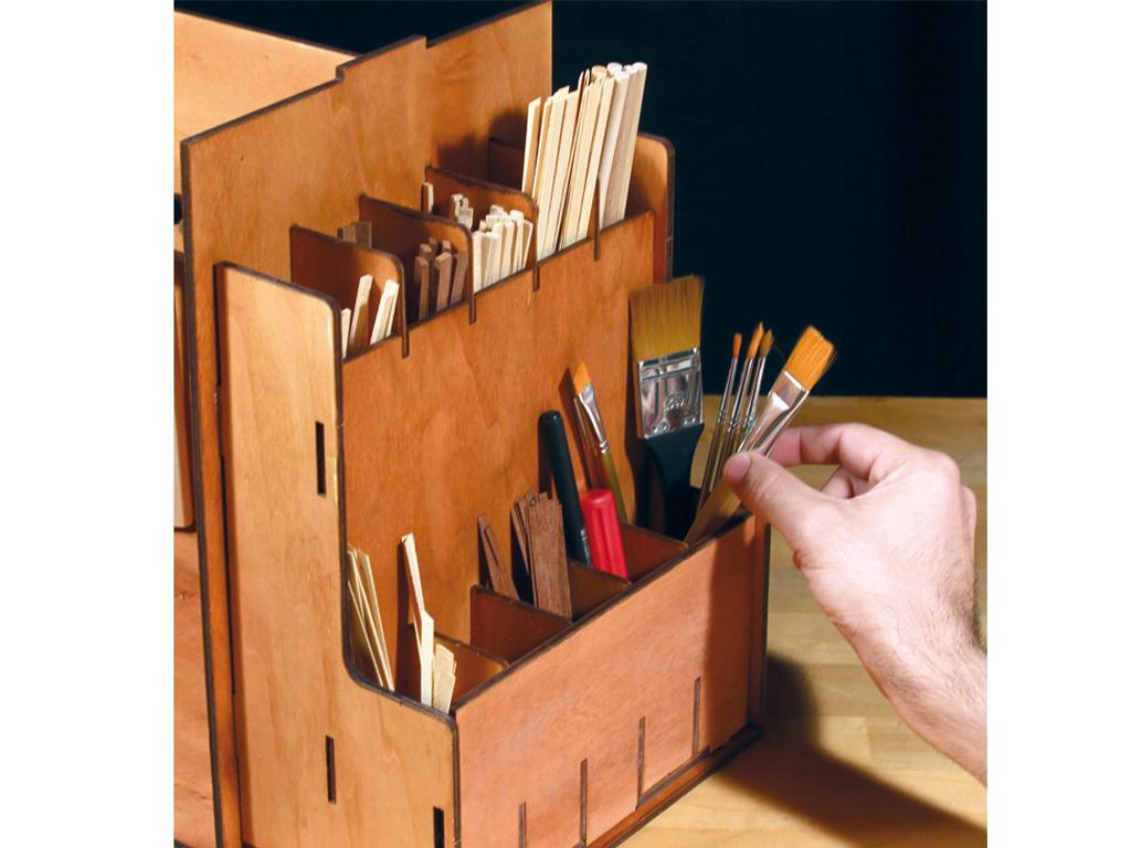 Mueble Taller Portatil (Vista 10)