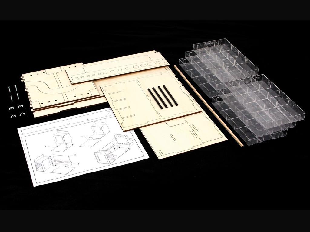 Mueble Taller Portatil (Vista 2)