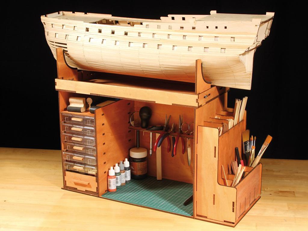 Mueble Taller Portatil (Vista 4)