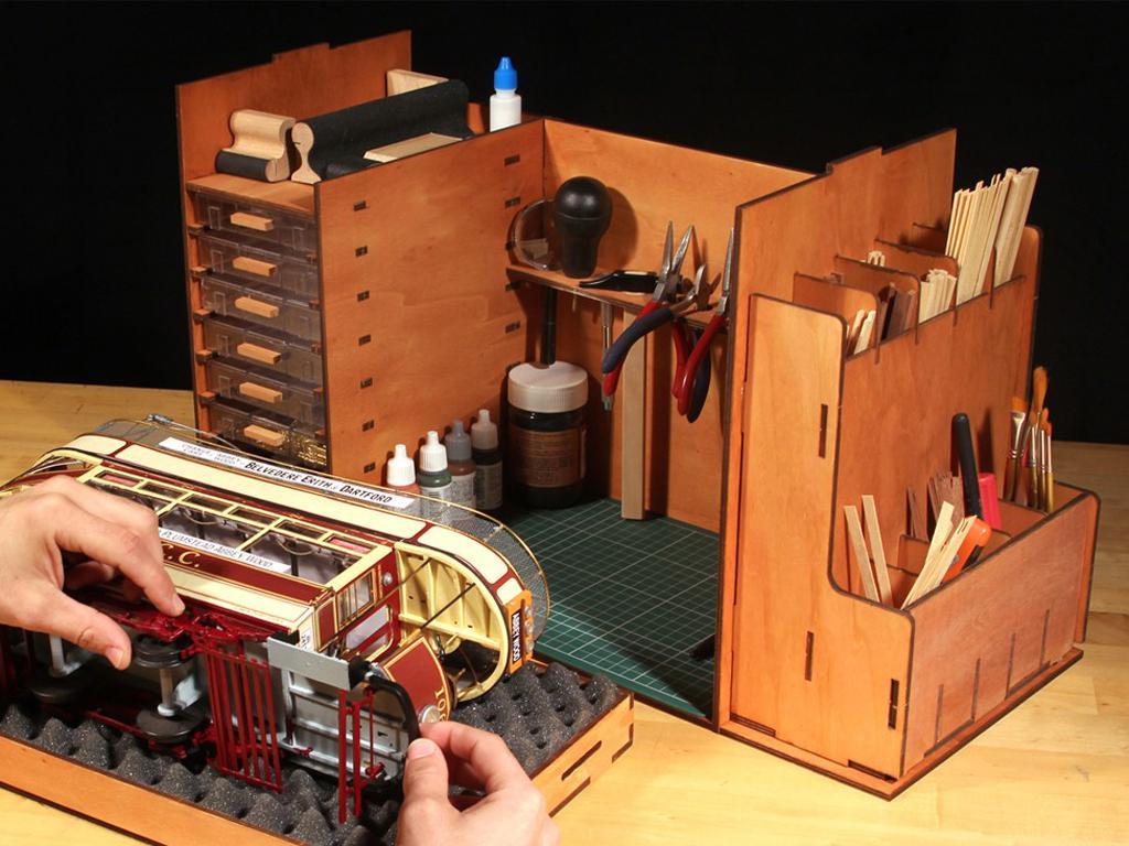 Mueble Taller Portatil (Vista 7)