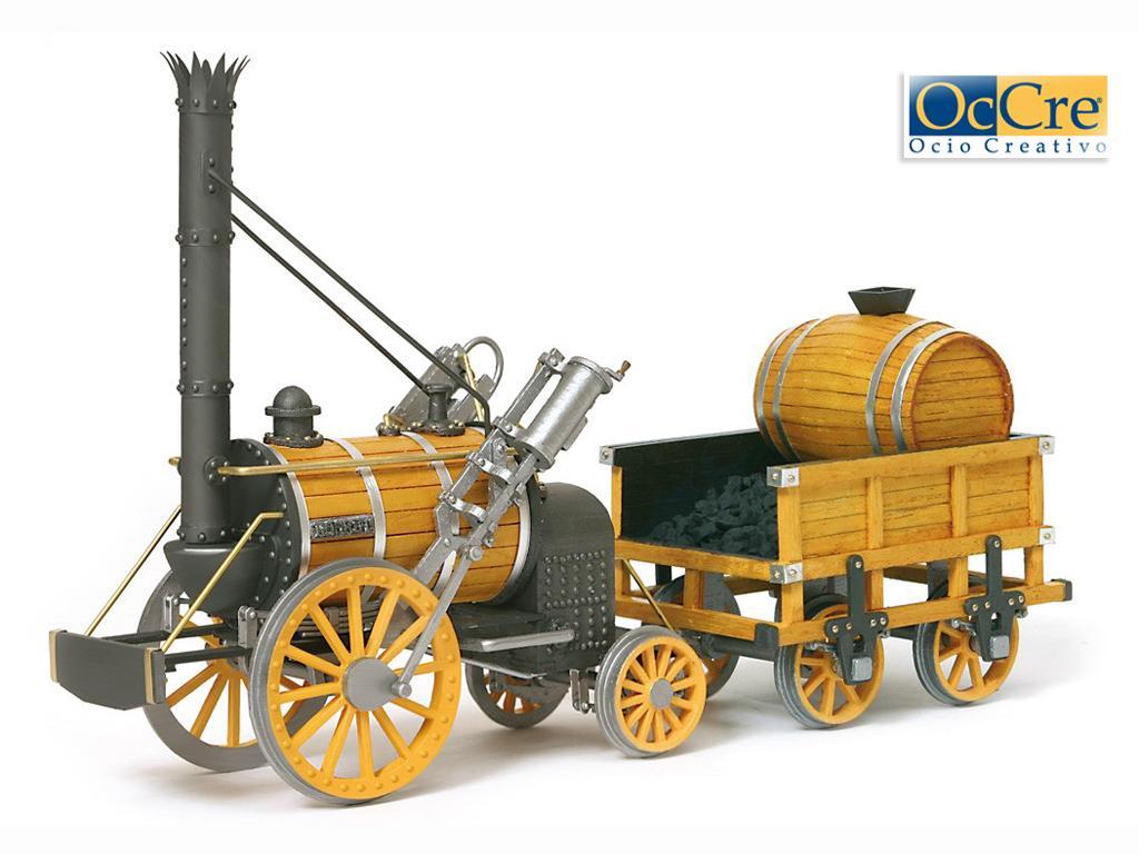 Locomotora Rocket - Robert Stephenson (Vista 1)