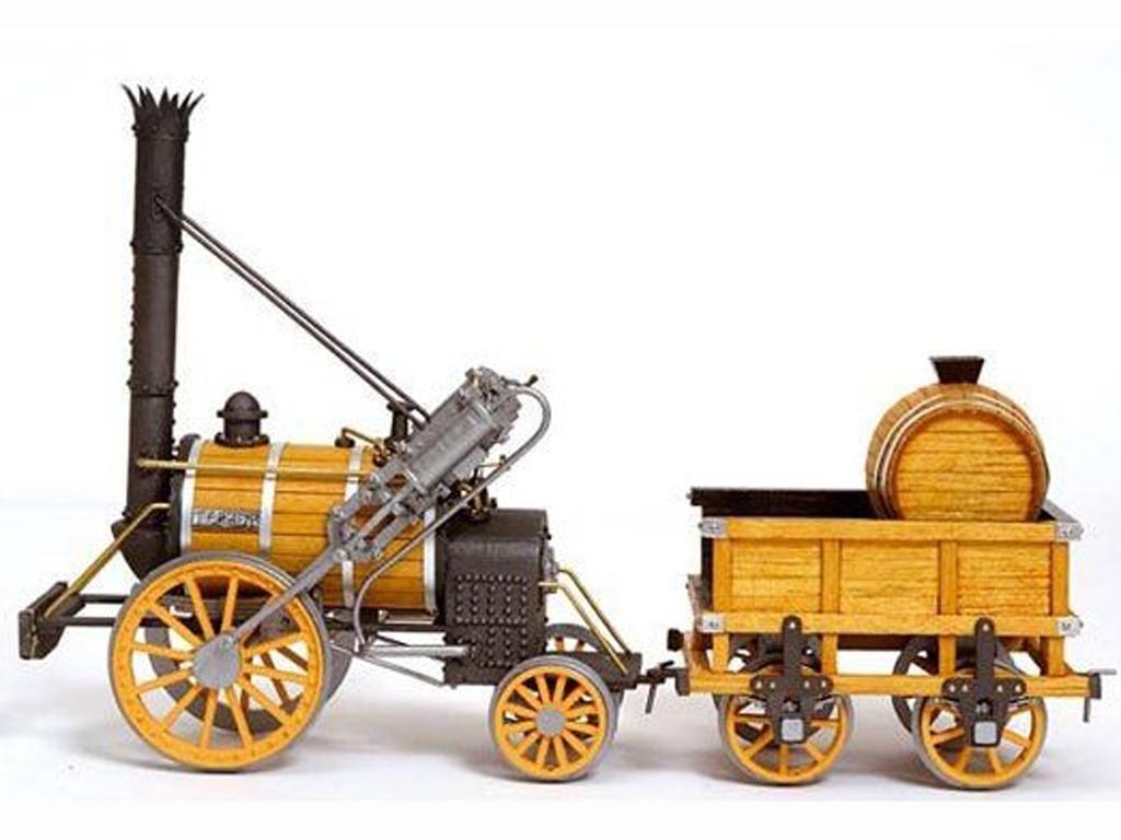 Locomotora Rocket - Robert Stephenson (Vista 2)