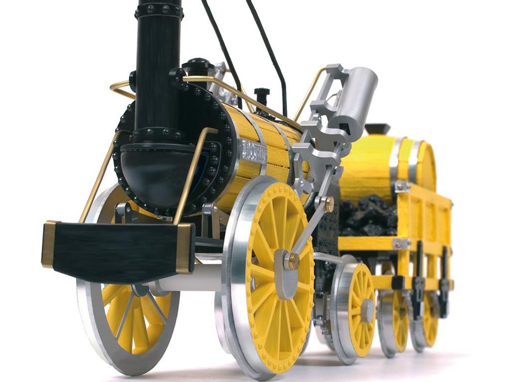 Locomotora Rocket - Robert Stephenson (Vista 3)