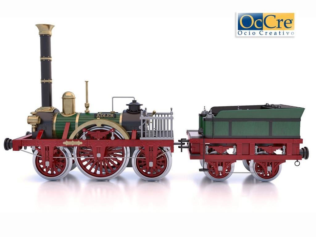 Locomotora Der Adler (Vista 1)