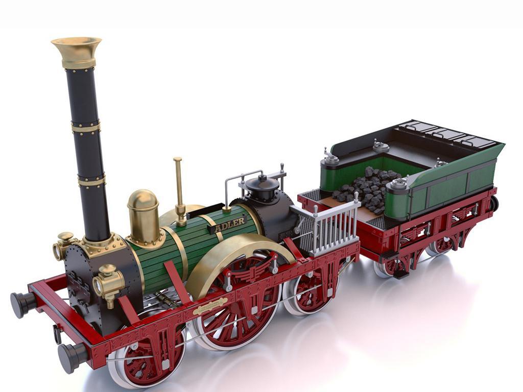 Locomotora Der Adler (Vista 10)