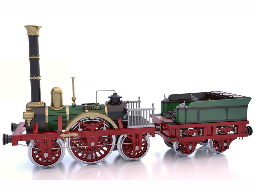 Locomotora Der Adler (Vista 2)