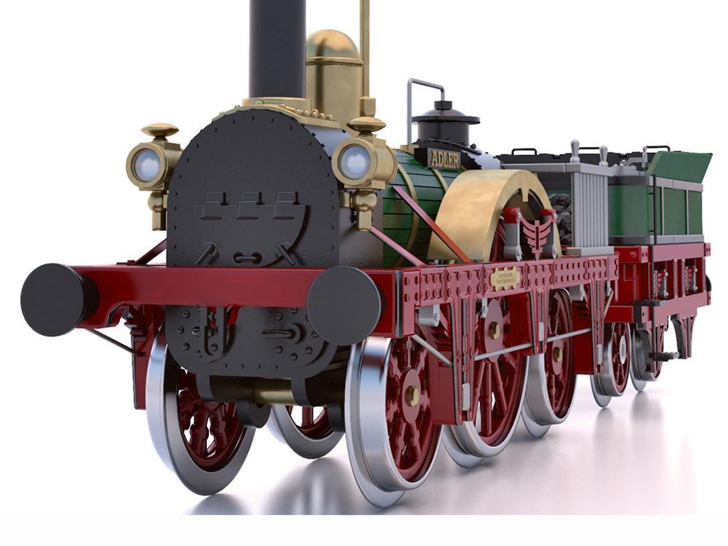 Locomotora Der Adler (Vista 4)