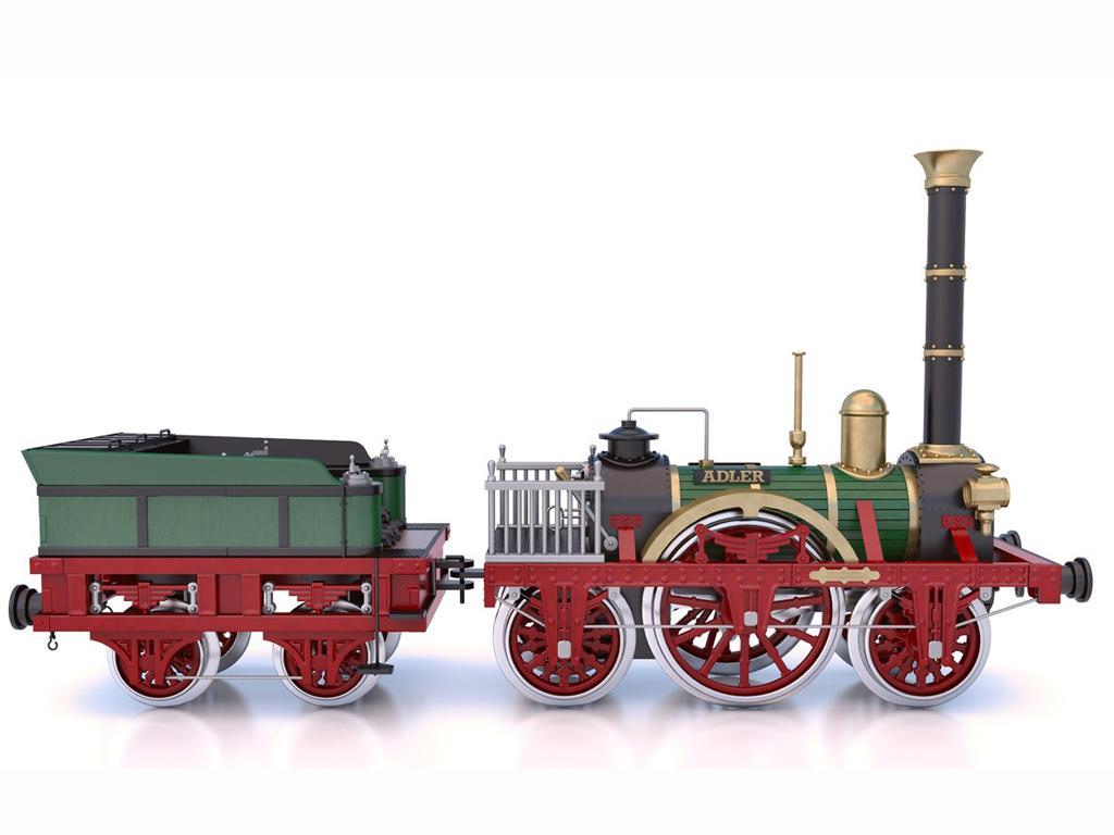 Locomotora Der Adler (Vista 6)