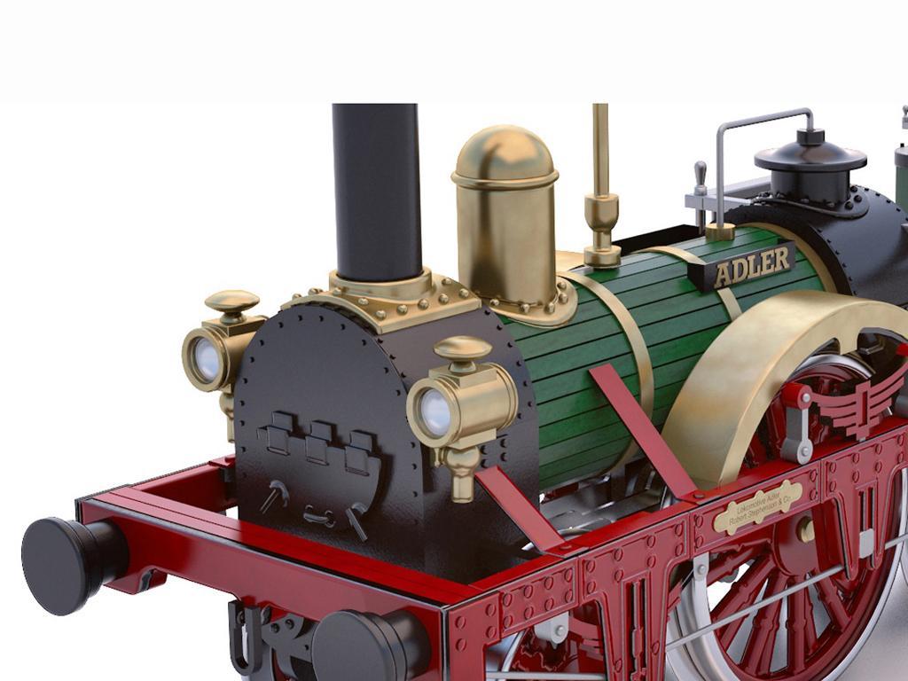 Locomotora Der Adler (Vista 8)