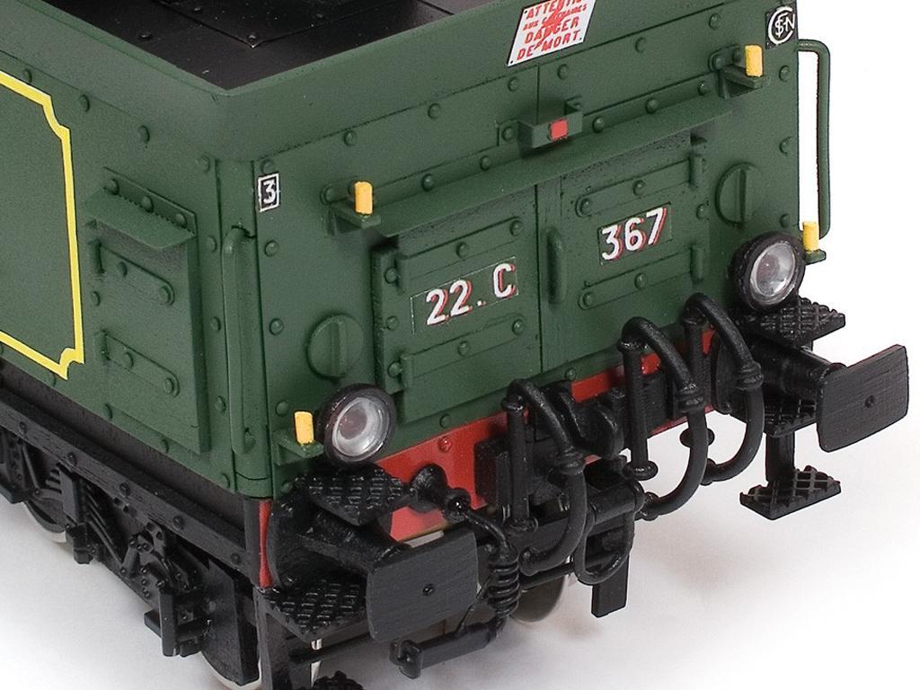 Locomotora Pacific 231 (Vista 10)