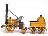 Locomotora Rocket - Robert Stephenson (Vista 7)