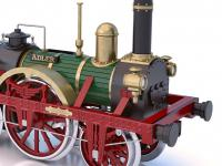 Locomotora Der Adler (Vista 20)