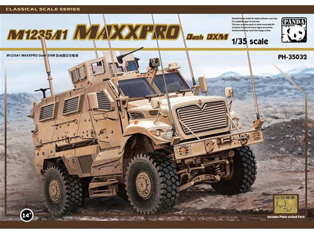 M1235A1 MAXXPRO Dash DMX MRAP - Ref.: PAND-PH35032