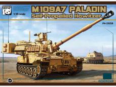 M-109A7 Paladin with metal track link - Ref.: PAND-PH35028