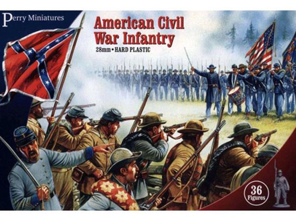 Infantería de la Guerra Civil Americana (Vista 1)