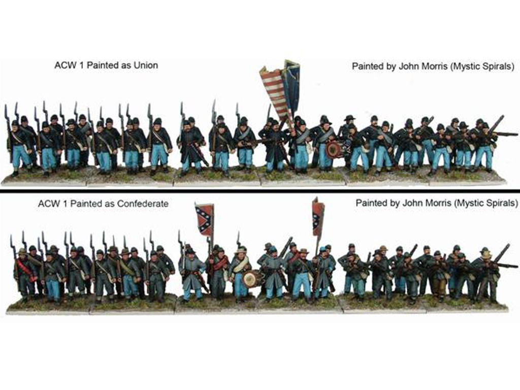 Infantería de la Guerra Civil Americana (Vista 2)