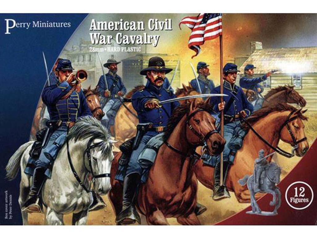 Caballería de la Guerra Civil Americana (Vista 1)