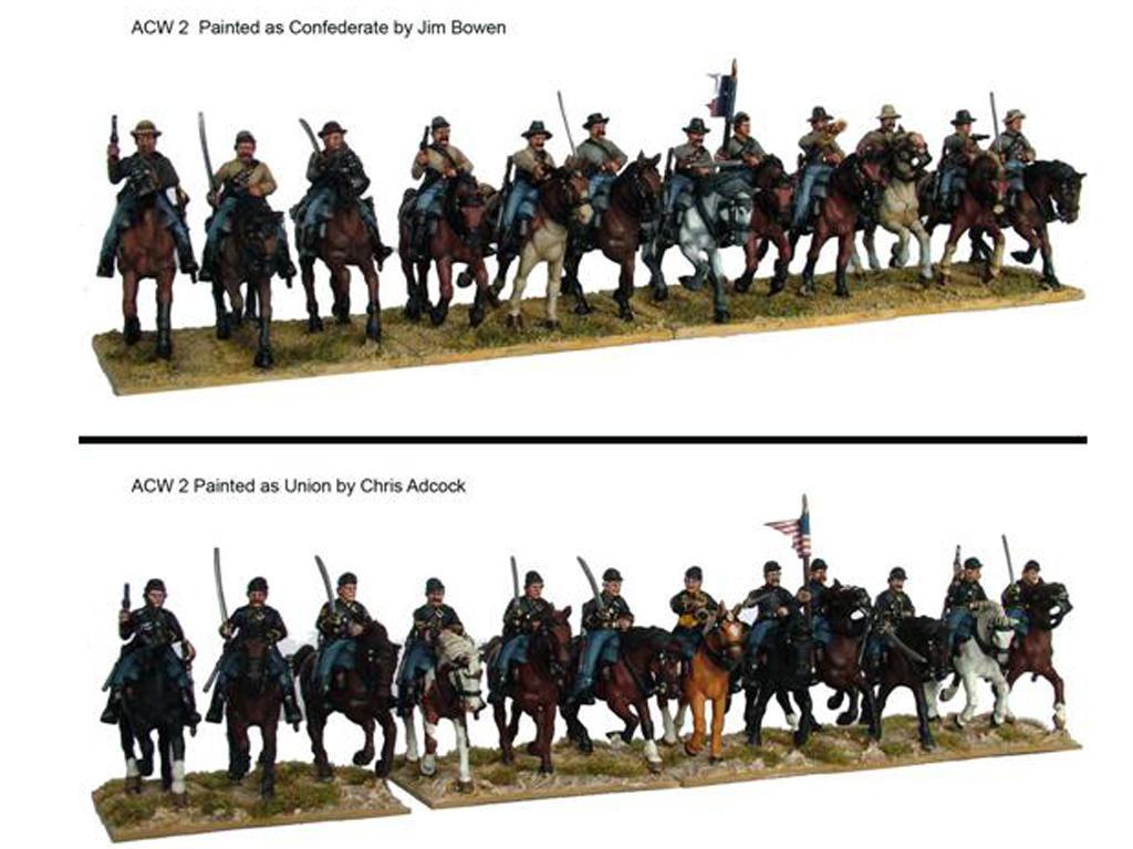 Caballería de la Guerra Civil Americana (Vista 2)