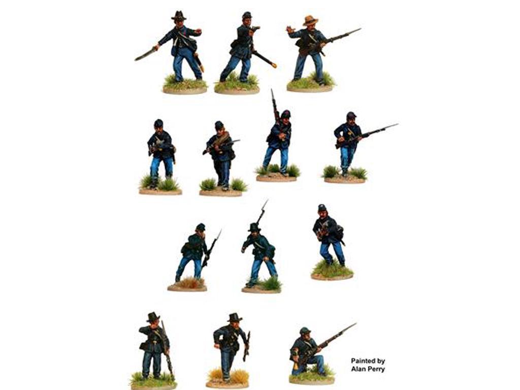 Infantería de la Unión de la Guerra Civil Americana 1861-65 (Vista 3)