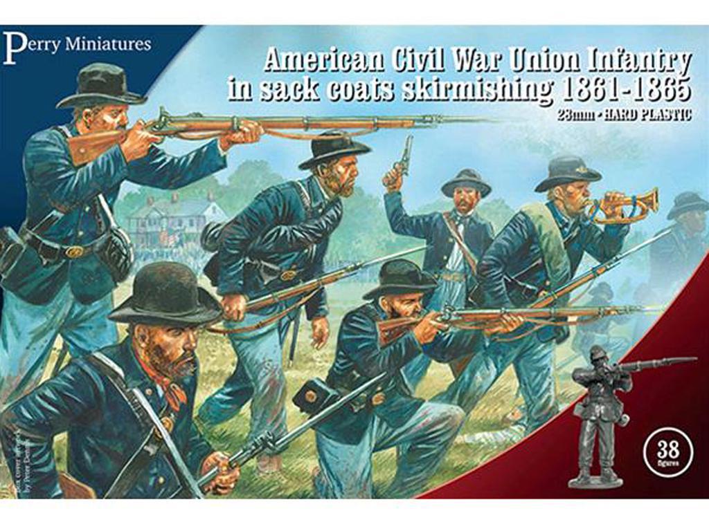 Escaramuzas de la Infantería de la Unión (Vista 1)