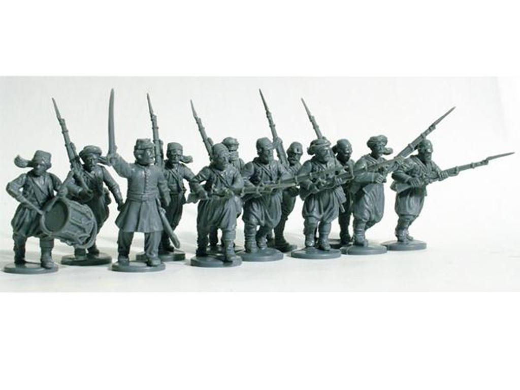 Zuavos de la Guerra Civil Americana 1861-65 (Vista 2)