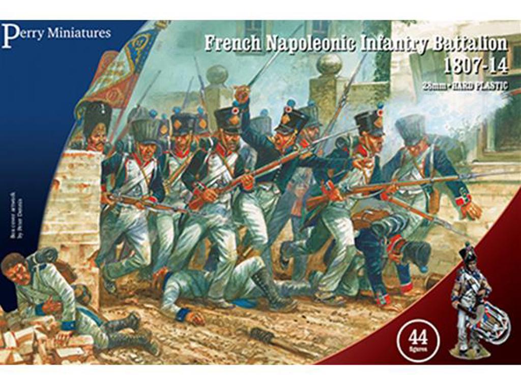Batallón de infantería Napoleónica Francesa 1807-14 (Vista 1)