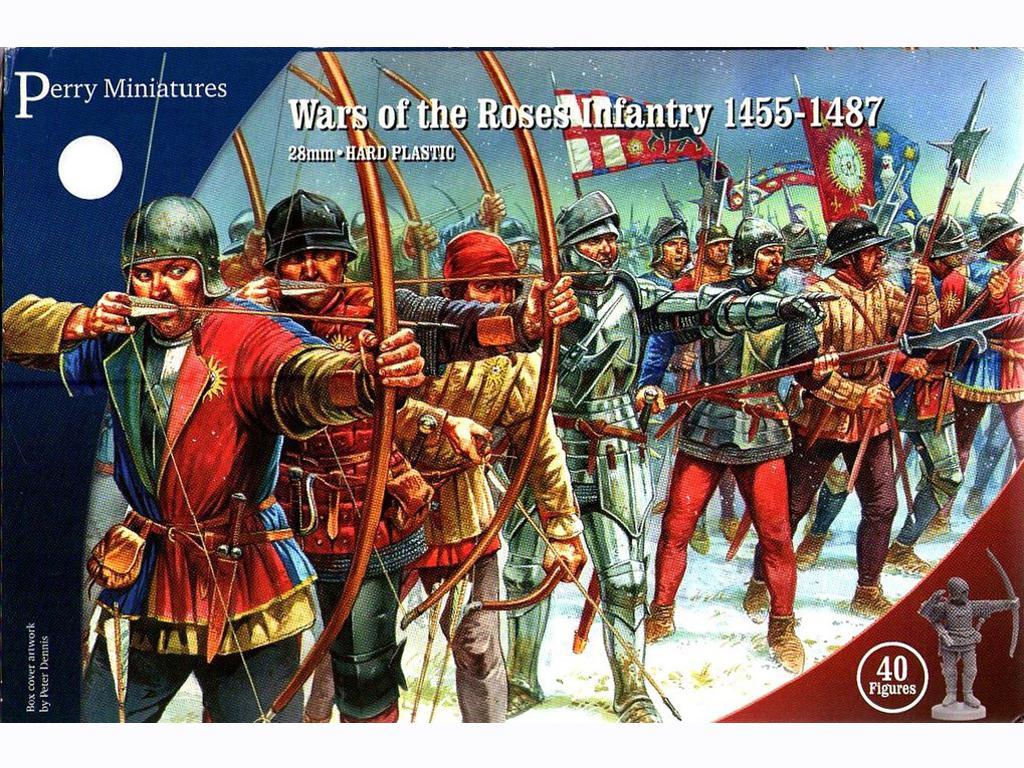 Guerras de las Rosas - Infantería 1455-1487 (Vista 1)