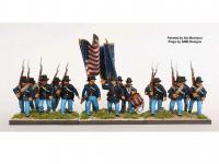 Infantería de la Unión de la Guerra Civil Americana 1861-65 (Vista 5)
