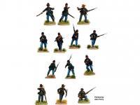 Infantería de la Unión de la Guerra Civil Americana 1861-65 (Vista 6)