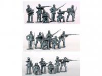 Escaramuzas de la Infantería de la Unión (Vista 4)