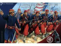 Zuavos de la Guerra Civil Americana 1861-65 (Vista 3)