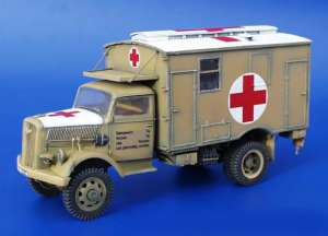 Opel Blitz 4x4 ambulance conversion set - Ref.: PLUS-0092