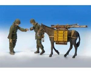 Infanteria U.S. con mula  (Vista 1)