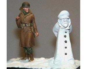 Soldado y muñeco de nieve  (Vista 1)