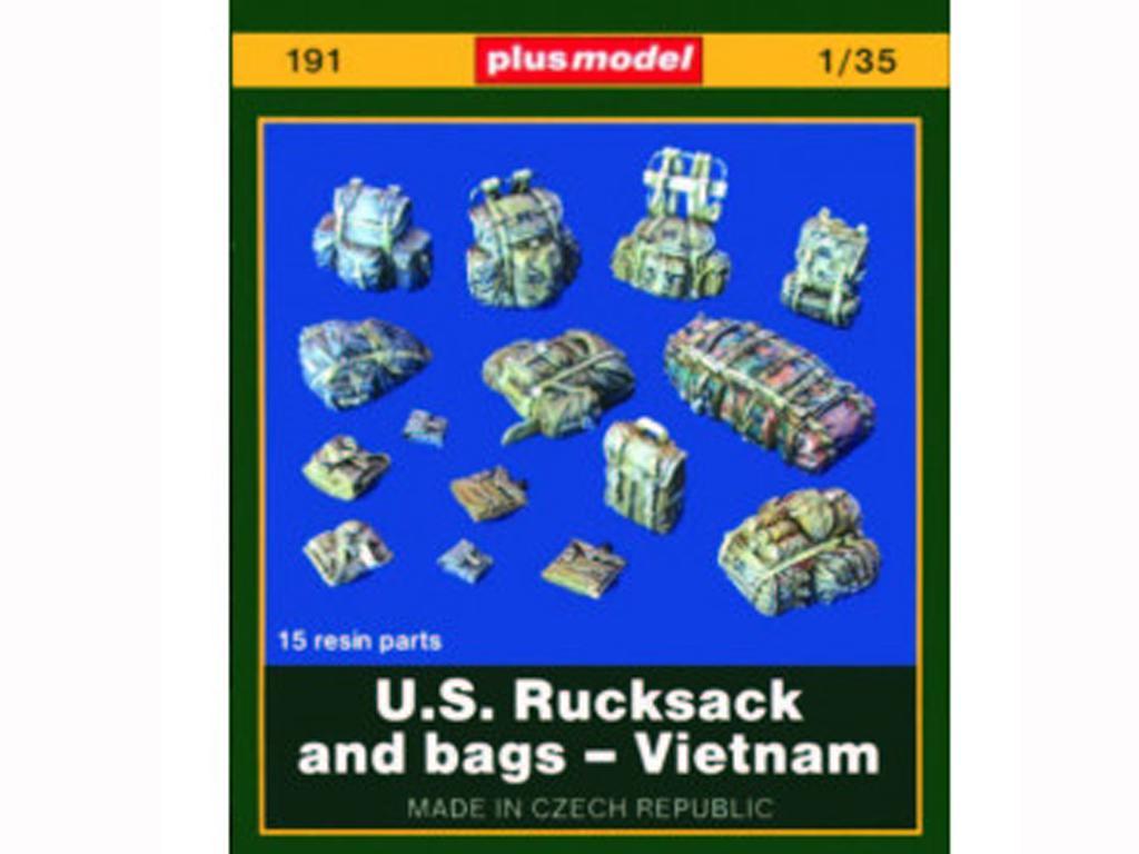 U. S. Mochilas y petates - Vietnam (Vista 1)