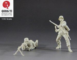 WWII German soldier set 1  (Vista 4)