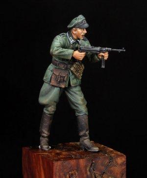 WWII German Sergeant  (Vista 4)
