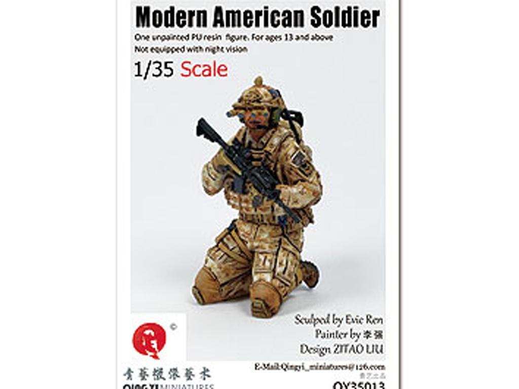 Soldado U.S. Moderno (Vista 1)