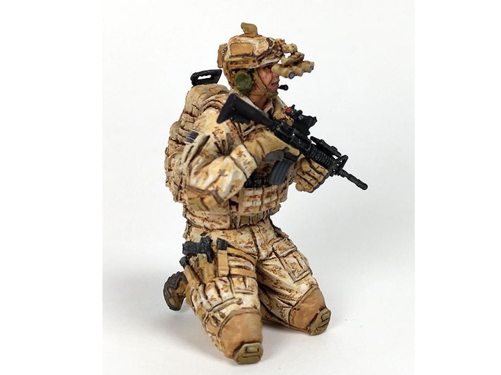 Soldado U.S. Moderno (Vista 2)