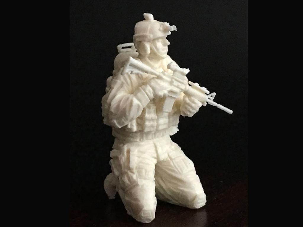 Soldado U.S. Moderno (Vista 5)