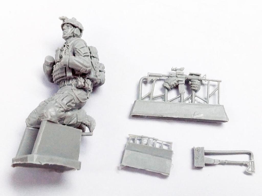 Soldado U.S. Moderno (Vista 6)