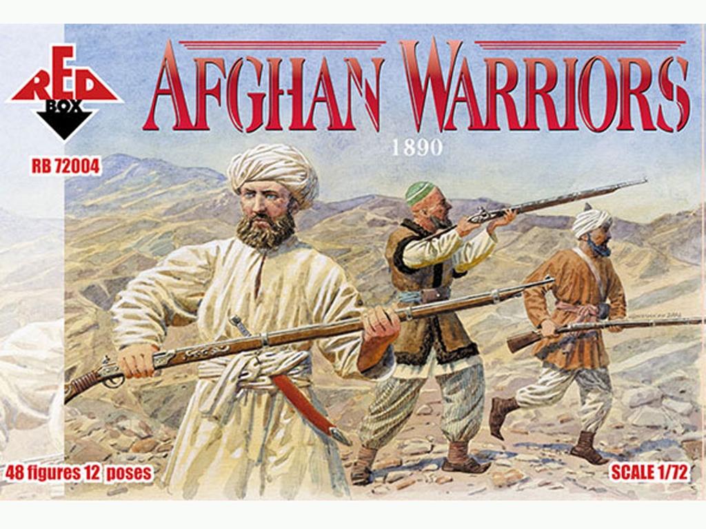 Guerreros Afganos 1890  (Vista 1)