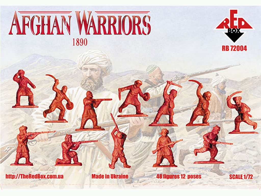 Guerreros Afganos 1890  (Vista 2)