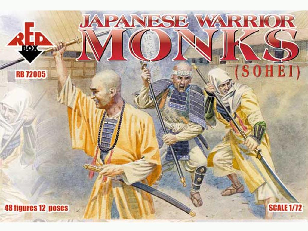 Monjes Guerreros Japoneses (Sohei) Siglo  (Vista 1)